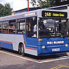 R and I Coaches K417MGN Golders Green Bus Stn Sep 94