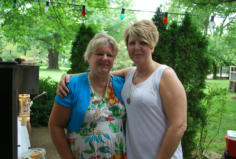 Cindy Hudlow and Teresa Williamson