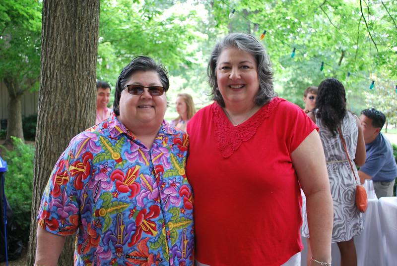 Maudie Schmitt and Carla Williams