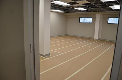 Floors now prepped to accept furniture