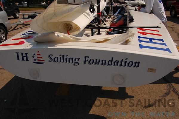 E Scow IH-11 Sailboat Photo Gallery