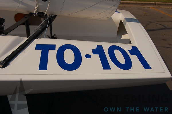 E Scow TO-101 Sailboat Photo Gallery