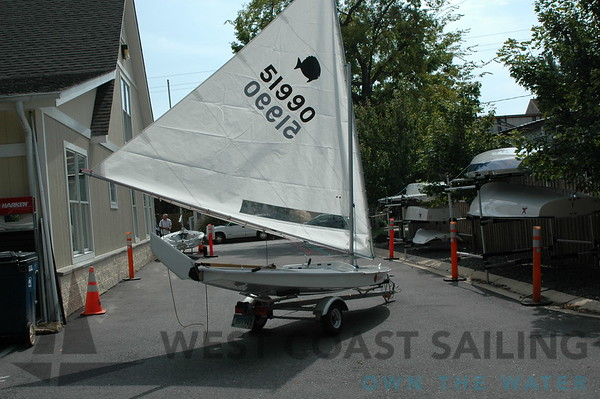 Sunfish Race Rigged Sailboat Photo Gallery