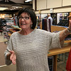 The City of Fitchburg has been working to make Main Street a one lane road down from two lanes. Early Thursday morning it became one lane. Employee Joyce Starr of Shacks on Main Street talks about the new one lane Main Street. SENTINEL & ENTERPRISE/JOHN LOVE