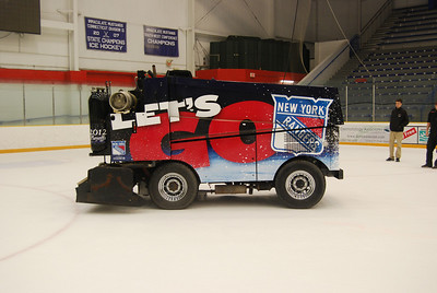 Zamboni machine, New York Rangers, NYC, NY