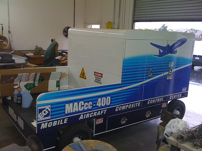 Pod and Trailer Wrap, EGT, Los Angeles, CA
