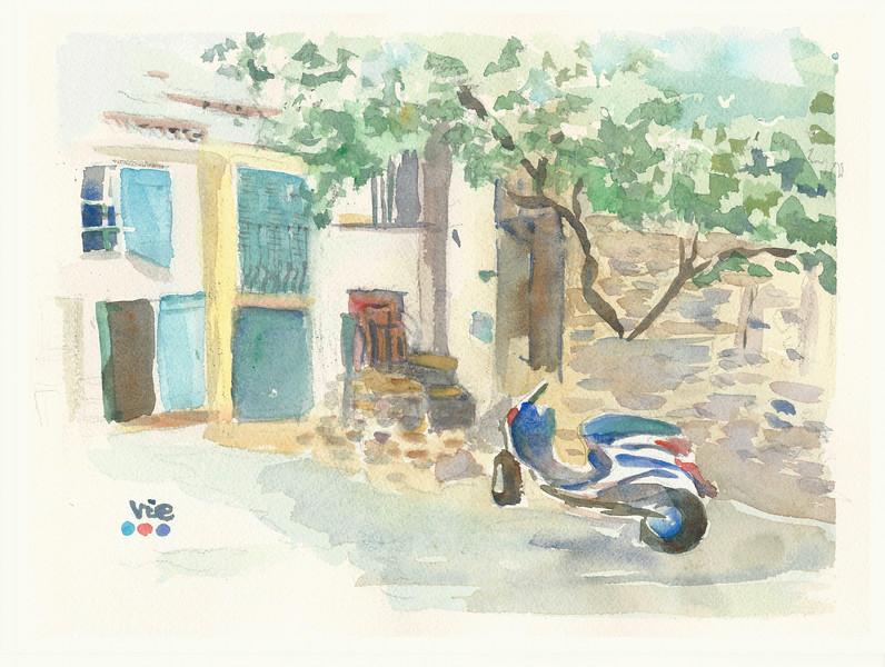 No 233 Sur la route en Provence