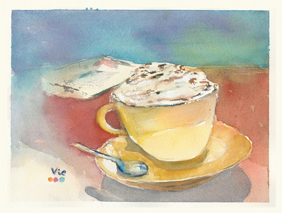 No 238 Un café viennois svp