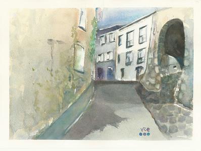 No 222 Une petite rue à Foix