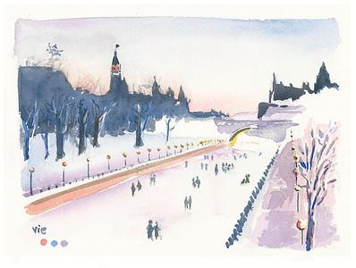 No 52 Le canal rideau en hiver