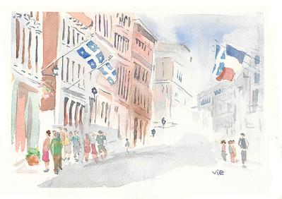 No 44 La rue St-Paul, Mtl