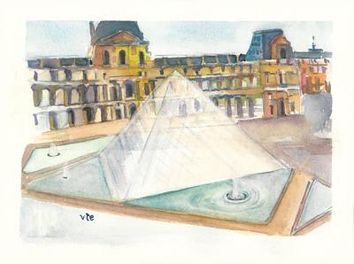No 21 La pyramide du Louvre