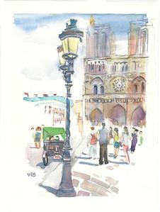 No 28 Notre Dame de Paris