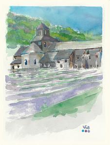 No 181 L'Abbaye de Senanque