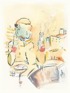 No 281 Le drummer