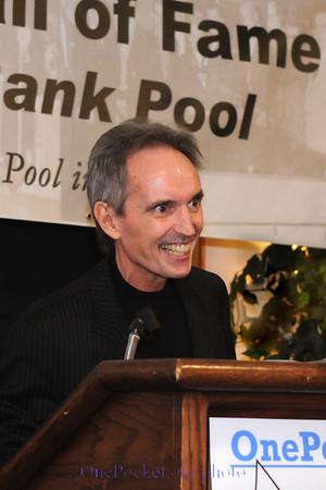 'Lifetime Pool in Action' honoree, 'Hippie' Jimmy Reid