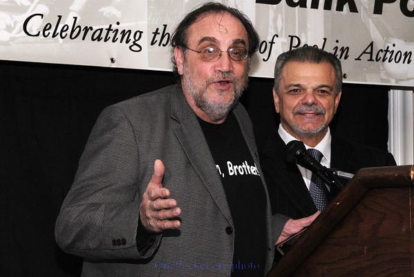 Freddy congratulates Billy Incardona
