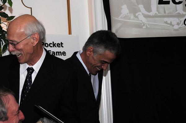 Grady Mathews and Jimmy Fusco share a laugh