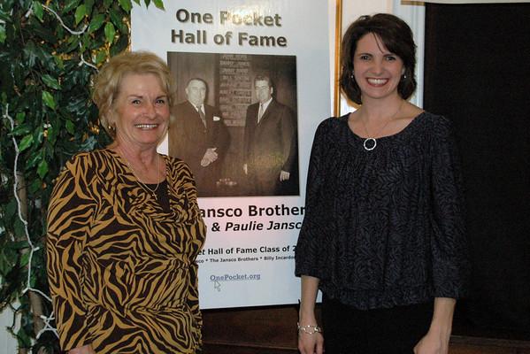JoAnn (Jansco) McNeal with Paulie Jansco's granddaughter<br /> -- Diana Hoppe photo