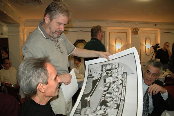 Bob Henning with Jimmy Reid<br /> -- Diana Hoppe photo