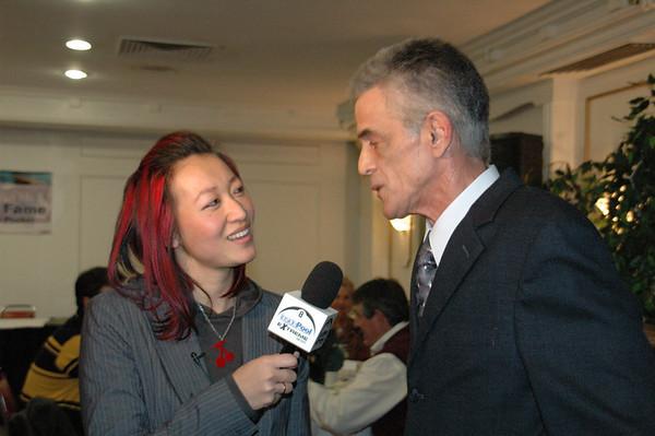 Samm Diep interviews Jimmy Fusco for Inside Pool<br /> -- Diana Hoppe photo