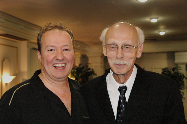 Inside Pool's JR Calvert with Grady Mathews<br /> -- Diana Hoppe photo