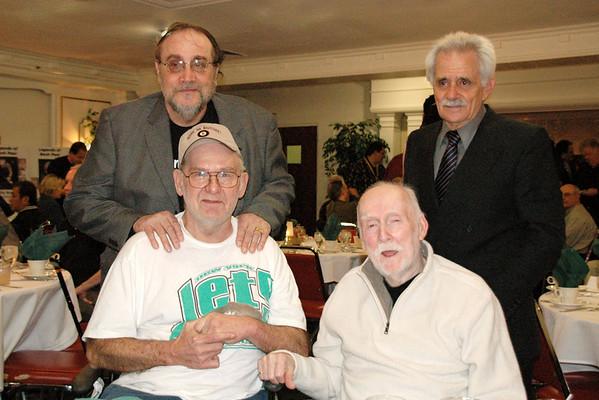 'The Beard' & Danny Di Liberto with Vernon & Donny<br /> -- Diana Hoppe photo