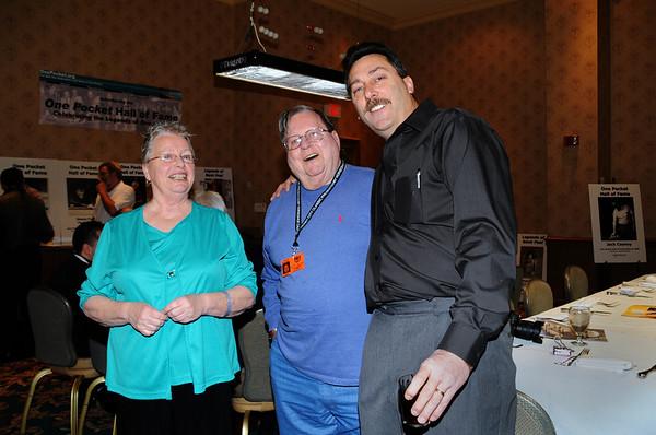 Randi Duggar-Mathews, Conrad Burkman & Steve Lomako -- Diana Hoppe photo