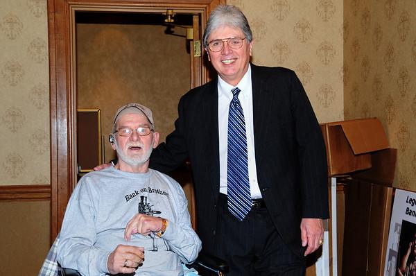 Vernon Elliott & Jack Cooney -- Diana Hoppe photo