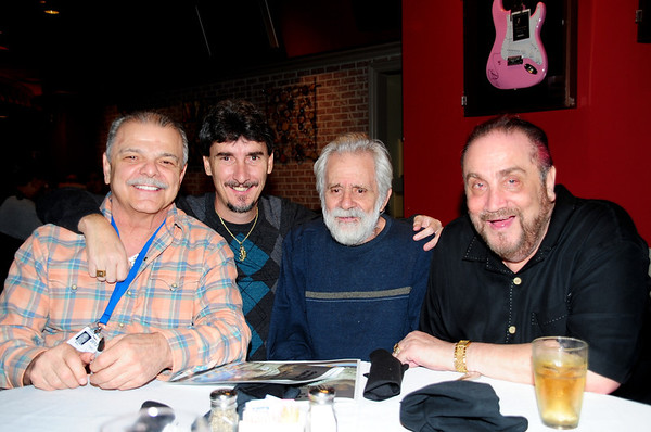 One Pocket HOF Billy Incardona, Archer, One Pocket HOF Danny Di Liberto & Banks HOF Freddy the Beard