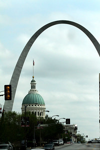 Saint Louis Arch and Court House.