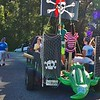 Sumter County Pirate Float with Alligator Trailing