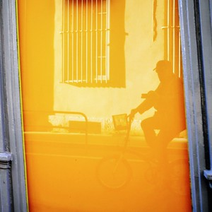 autoportrait jaune et bleu - day#267 - year#05