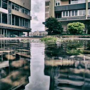 s'occuper sur un parvis sous la pluie - day#101 - year#08