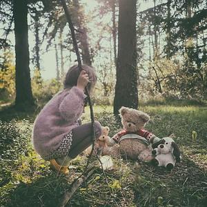 """""""La forestière amie avec les animaux"""" - day#281 - year#08"""