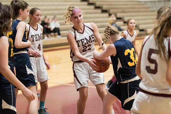 Conestoga Girls Basketball January 6th, 2017