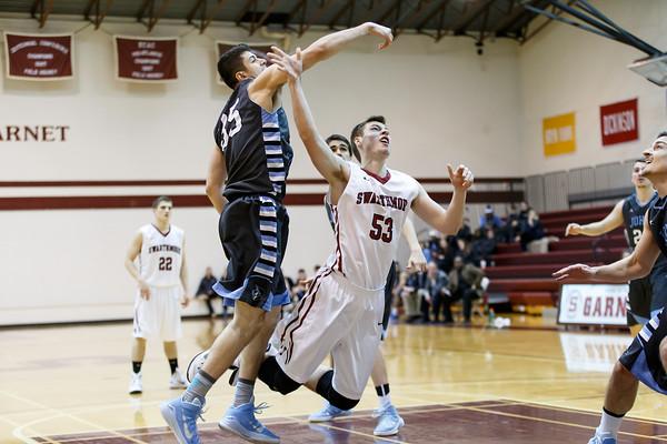Swarthmore vs Johns Hopkins Mens Basketball 2-06-2015