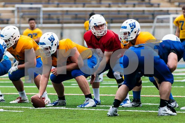 Widener University Football Practice