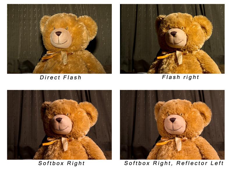 Light comparison.