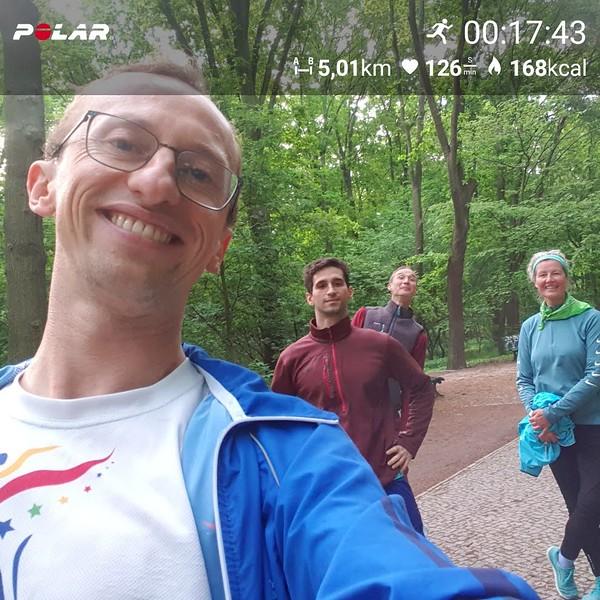 Samalya, Carlos, Lukas, Mahiya - Berlin, 4 Apr