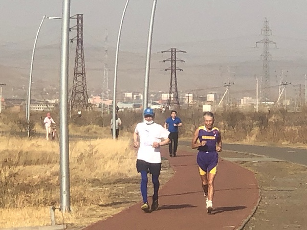 Odgiiv and Radnaa, Ulaanbaatar, Mongolia, 28 April