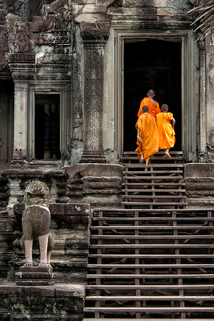 Angkor Wat, Cambodia by Ronald Nelson