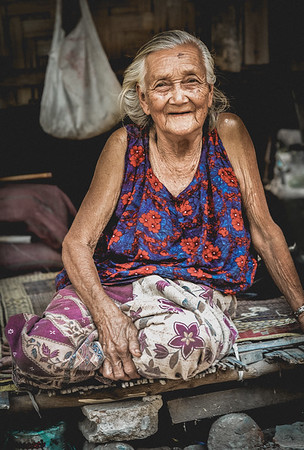 95 years young. Luang Prabang, Laos. March 2017.