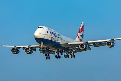 British Airways Boeing 747-436 G-CIVM 3-29-19