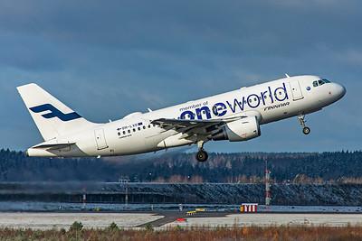 Finnair Airbus A319-112 OH-LVD 10-29-19