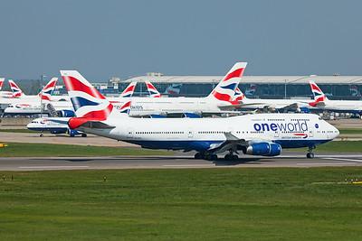 British Airways Boeing 747-436 G-CIVC 4-21-19 2