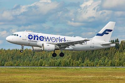 Finnair Airbus A319-112 OH-LVD 8-18-19