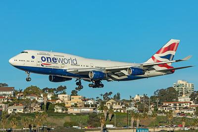 British Airways Boeing 747-436 G-CIVK 1-31-20
