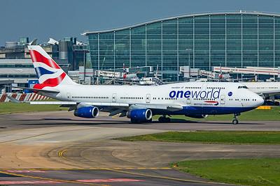 British Airways Boeing 747-436 G-CIVC 4-21-19 3