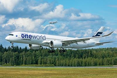 Finnair Airbus A350-941 OH-LWB 8-18-19 2